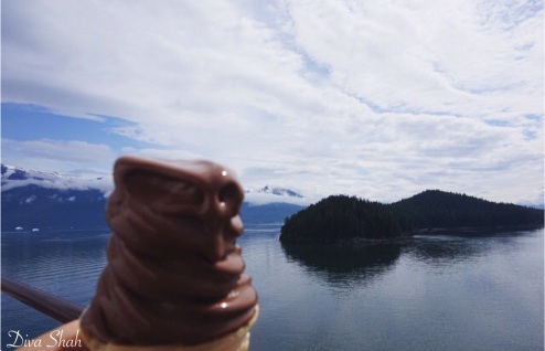 ice cream and stunning views