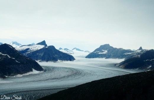 Enroute Mendenhall Glacier