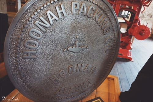 Entrance to Hoonah Packing Co. Museum