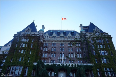 The famous Fairmont Express Hotel