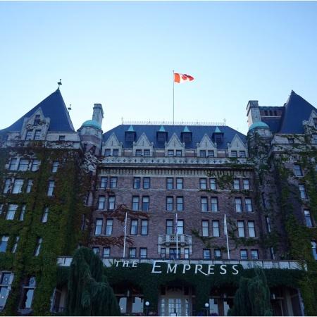 The famous Fairmont Express Hotel